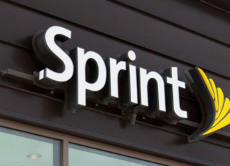 sprint logo store head