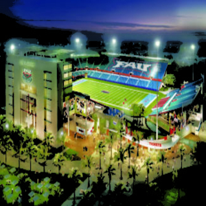 FAU stadium gets a DAS upgrade