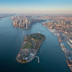 Bringing broadband to Governors Island in NYC