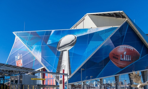 AT&T enhances cellular coverage in Atlanta for the Big Game