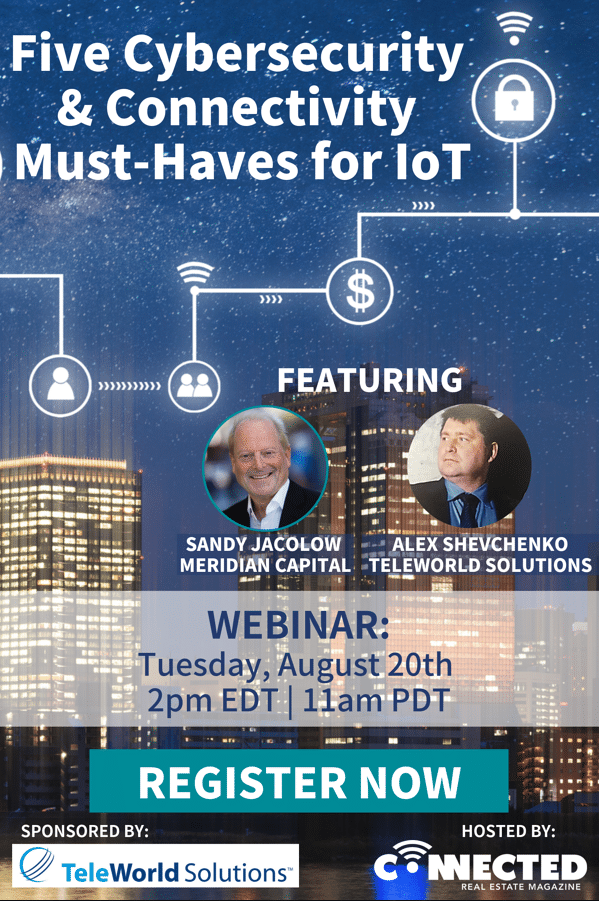 Webinar: Five Cybersecurity & Connectivity Must-Haves for IoT
