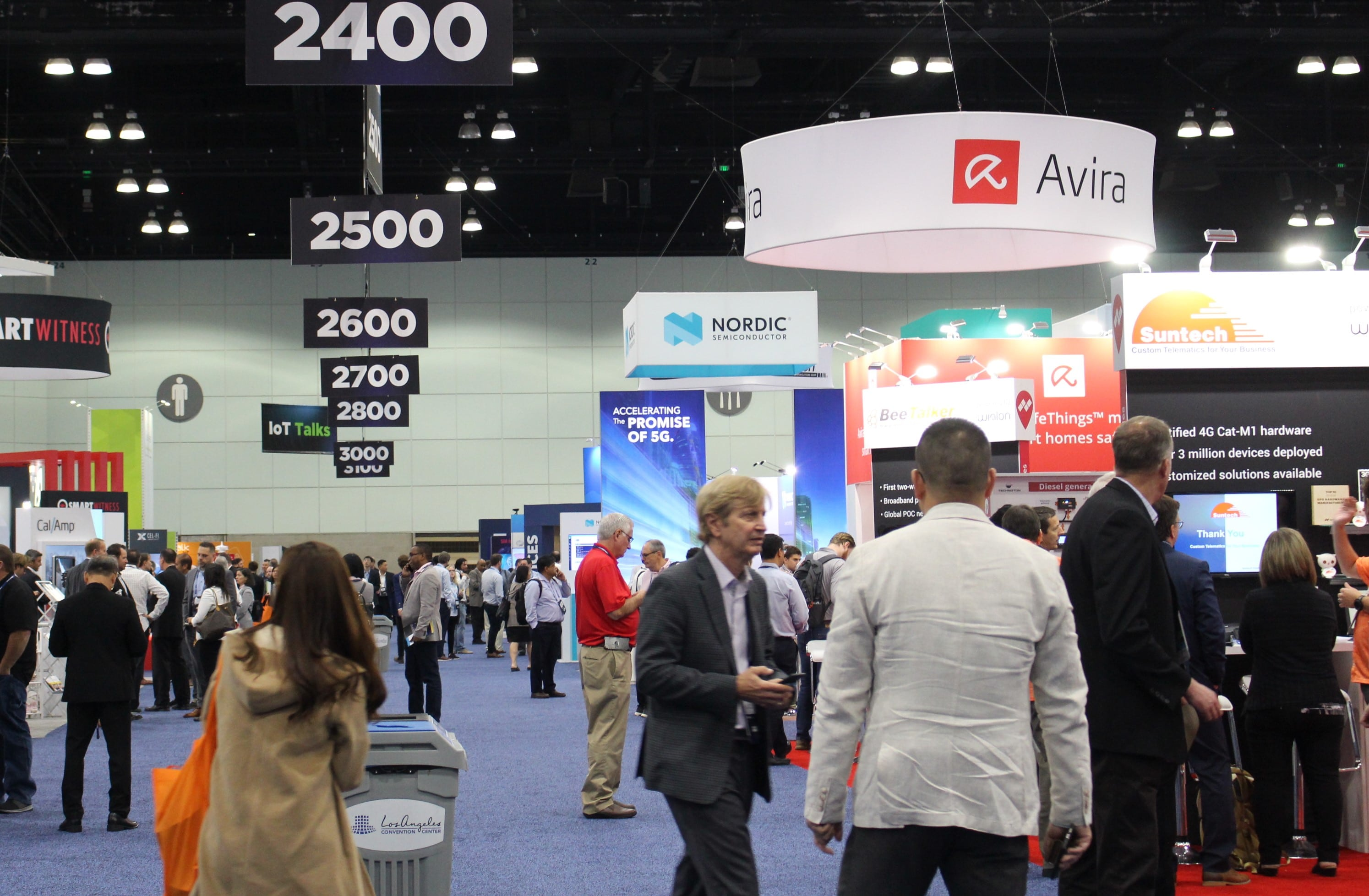 Report from the 2019 Mobile World Congress in Los Angeles
